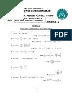 Práctica Ecuaciones Diferenciales