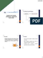 Modelos de Gestão Ambiental-ecoeficiecia e Pmaisl e Total Quality
