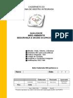 Caderneta Do Sistema de Gestao Integrada