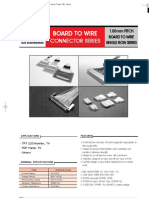 BOARD TO WIRE CONNECTOR SERIES