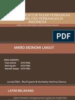 Analisis Struktur Pasar Perbankan Dan Stabilitas Perbankan Di Indonesia