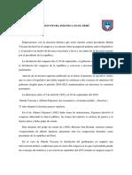 Coyuntura Política Del Perú