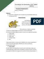 Proyecto Programación I 2019