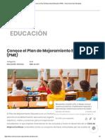 plan de mejoramiento educativo (pme)