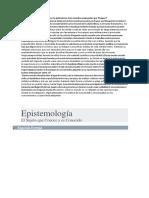 Adelanto Trabajo Epistemiologia