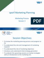 3. Unit Sport Marketing Planning