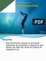1 Prevenção e segurança no mergulho livre Phpapp02