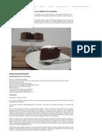 Bizcocho Cremoso de Chocolate de La Biblia de Los Pasteles