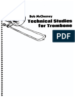 Bob Mcchesney Technical Studies for Trombone