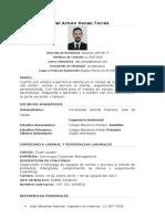 CV Daniel Henao - Supervisor