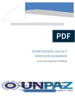 2º Módulo Deontología 2018 Enf