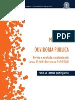 Manual de Ouvidoria Publica