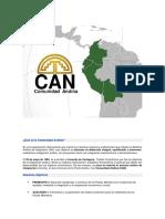 Qué Es La Comunidad Andina CAN (Recuperado Automáticamente)