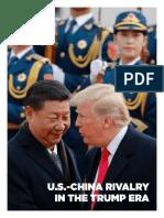 Rivalidad China-Estados Unidos en la era Trump.