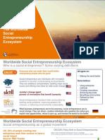 Worldwide Social Entrepreneurship Ecosystem Slides