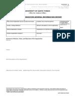 03 Student Organization General Information Report Annex A