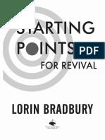 Starting Points for Revival Sample