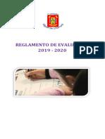 Reglamento 2019 de Evaluación Unamuno