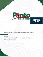 AULA 01- História e Constituição Da Categoria Profissional