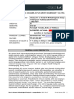2019-20 Research Methodology and Design for Language Studies PROGRAM v 01(1) (1)