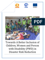 Towards A Better Inclusion of Children, Women and Person with Disability (PWD) in Disaster Risk Reduction.pdf