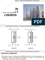 5.6 - Desorcion de Gases