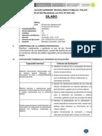Silabo OFIMATICA - Agropecuaria
