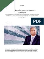 Crise Equador