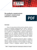 14- Eneus - Das Mediações Comunicacionais à Mediação Comunicacional Numérica No Consumo
