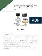 Vana de Amestec Electronica Cu Denzifectare LEGIOMIX 6000_fisa Tehnica
