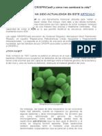 ¿Qué es la tecnología CRISPR_Cas9 y cómo nos cambiará la vida_ _ Dciencia.pdf
