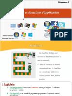 chapitre 3 logiciels et domaines d'application