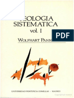 Teologia Sitematica de Wolfhart Pannenberg