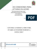 Diseño de Conexiones Universidad Nacional de Colombia (Archivo Publico)