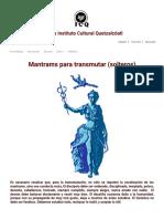Mantrams Para Transmutar (Solteros). La Sabiduría Del Ser 41