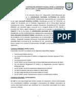 Universidad Nacional de Frontera- Marco