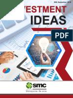 Investment Ideas - 700 - 06 September 2019