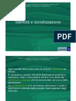 Identità e socializzazione