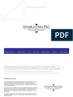 Site Masters Logo Style Manual