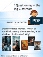 Primals- Art of Questioning-In Reading Classroom-Rachell-Satsatin