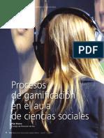 Procesos de gamificación en Cs Sociales