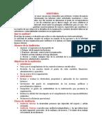 Auditoria y Tipos de Auditoria