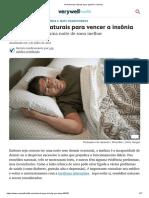 14 Maneiras Naturais Para Ajudá-lo a Dormir