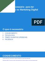 Recursos Necessarios No Marketing Digital