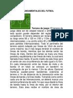 Elementos Fundamentales Del Futbol