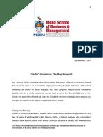 Strategic Management Case