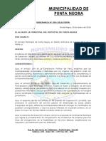 Ordenanza Municipal 2016004