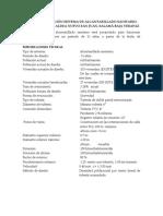 Especificaciones técnicas para un proyecto en Guatemala
