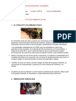 Conflictos America Latina