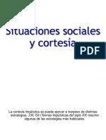 Estrategias de Cortesía en Distintas Situaciones Sociales